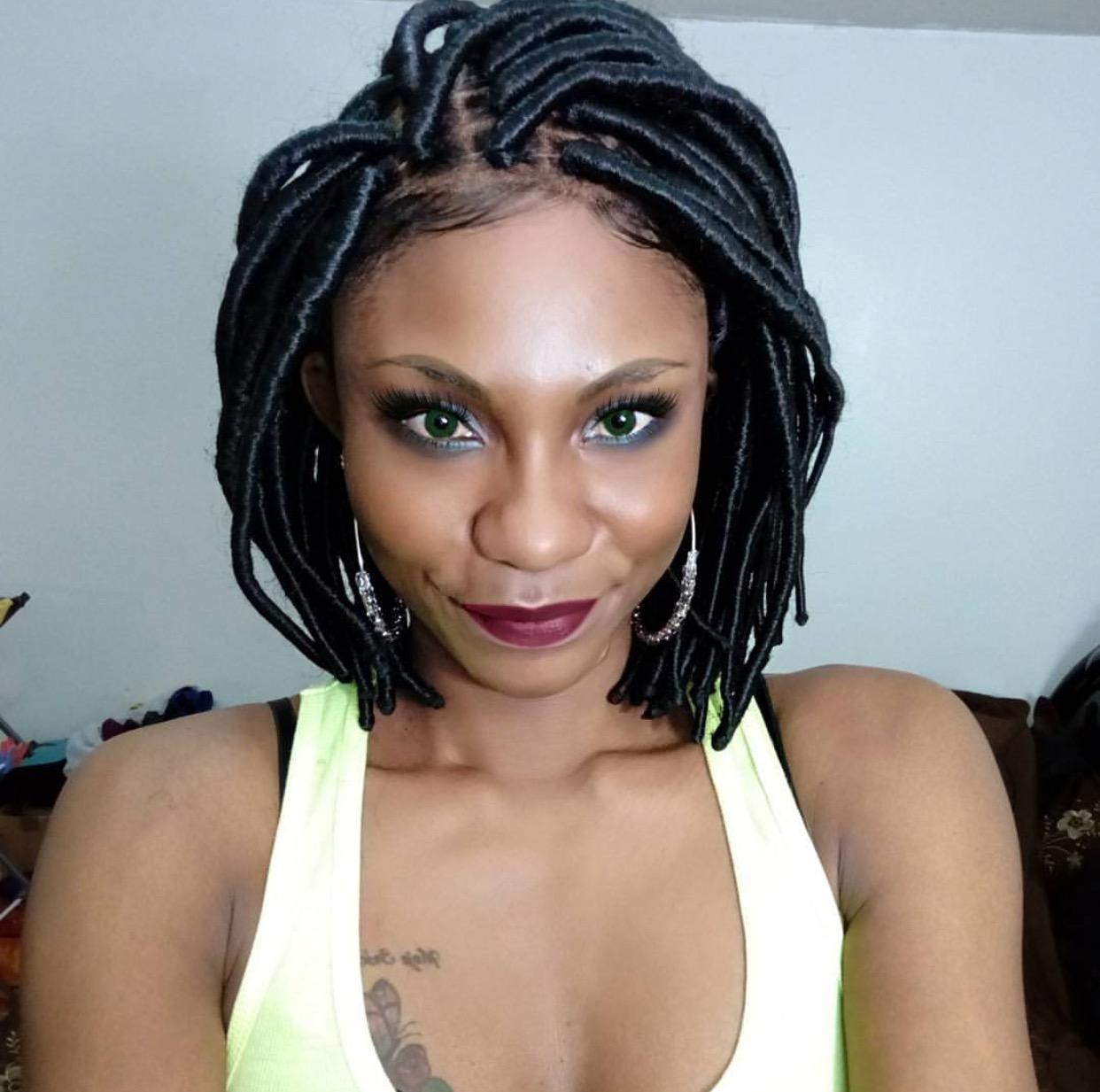 Faux Locs Trina Bob Wig Inner Faith Hair Company